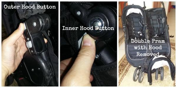 Hood Buttons