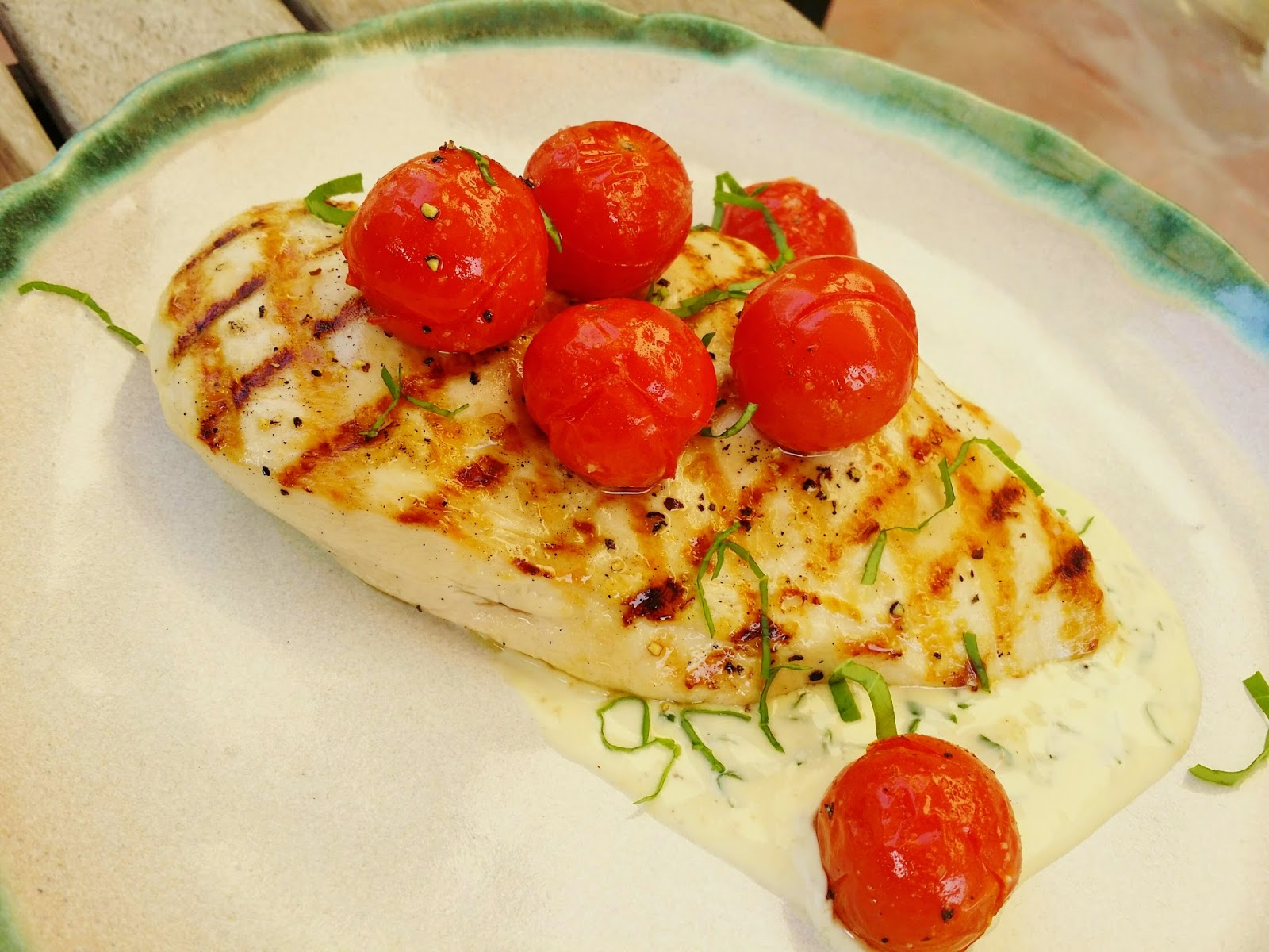 how to make grilled chicken in a pan