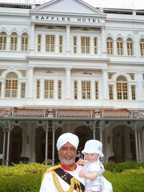 <em>when we went to Singapore on our honeymoon</em>