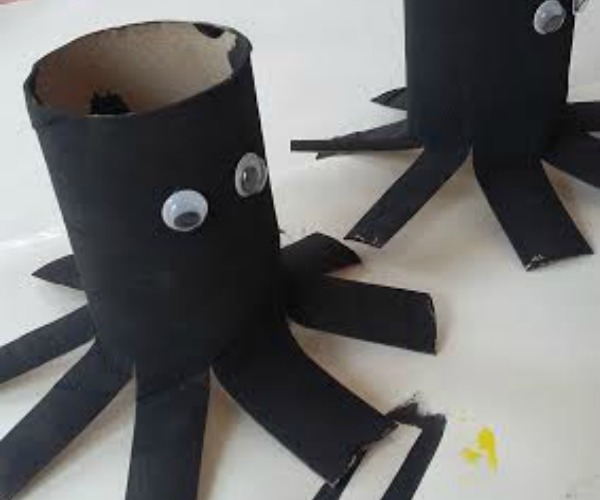 Spider Toddler Craft