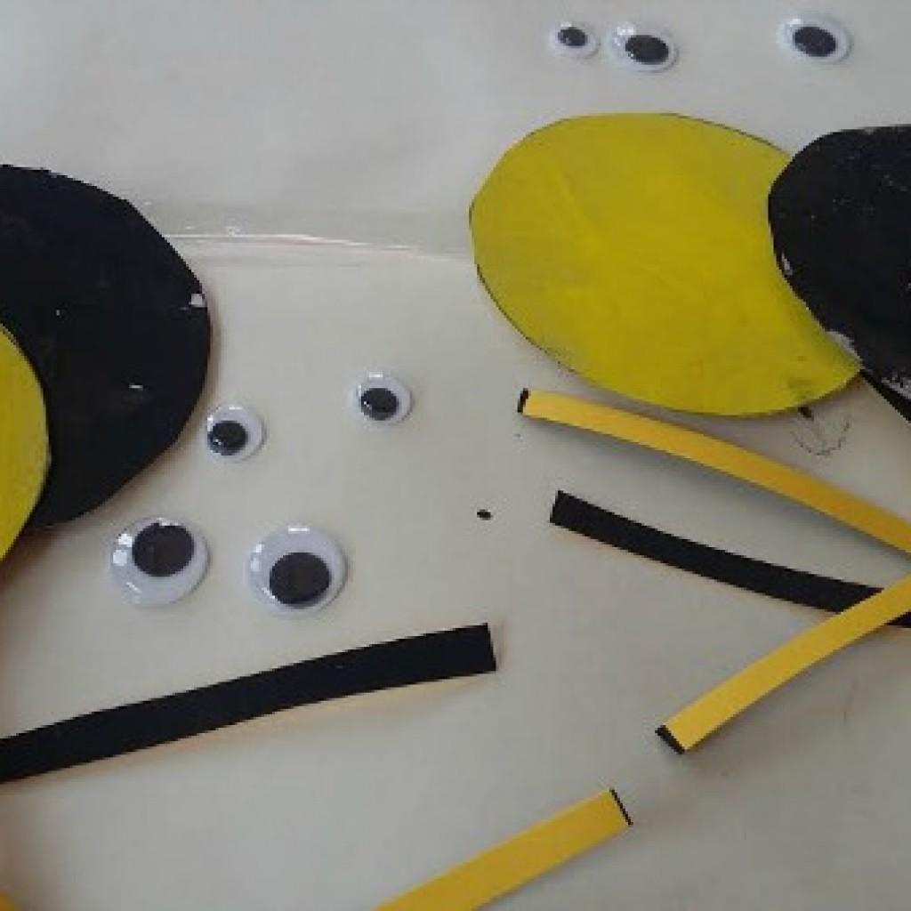 Toddler Craft; Incy Wincy Spider Craft