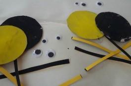 Reversible Spider Toddler Craft