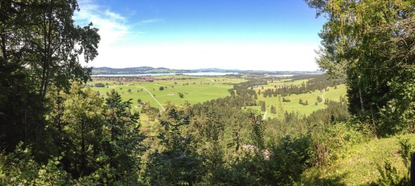 Views from Neuschwanstein Castle