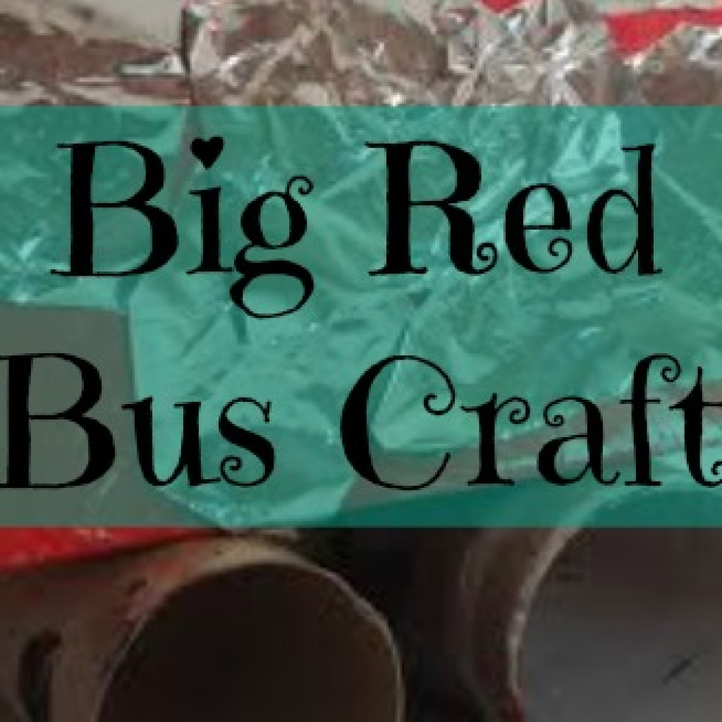 Big Red Bus Craft