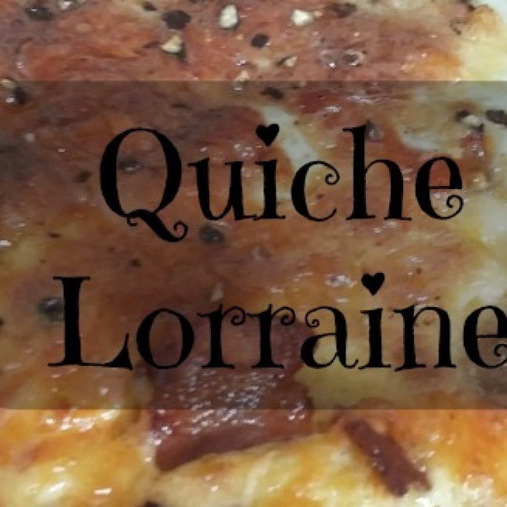 Food for Thought; Quiche Lorraine