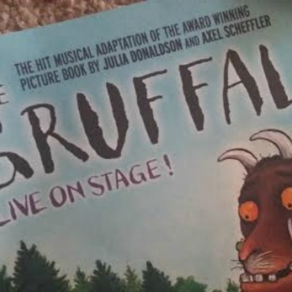 Our First Theatre Trip; The Gruffalo