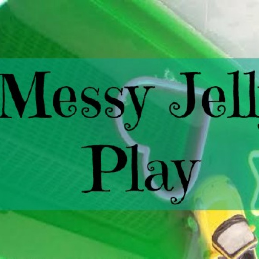 Toddler Messy Jelly Play