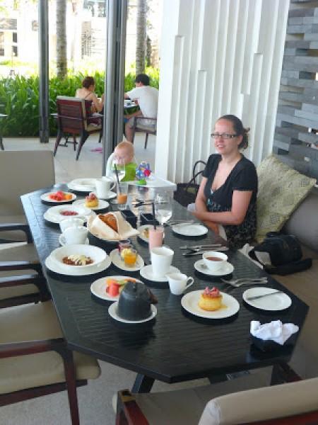 Alila Villas Bali Breakfast