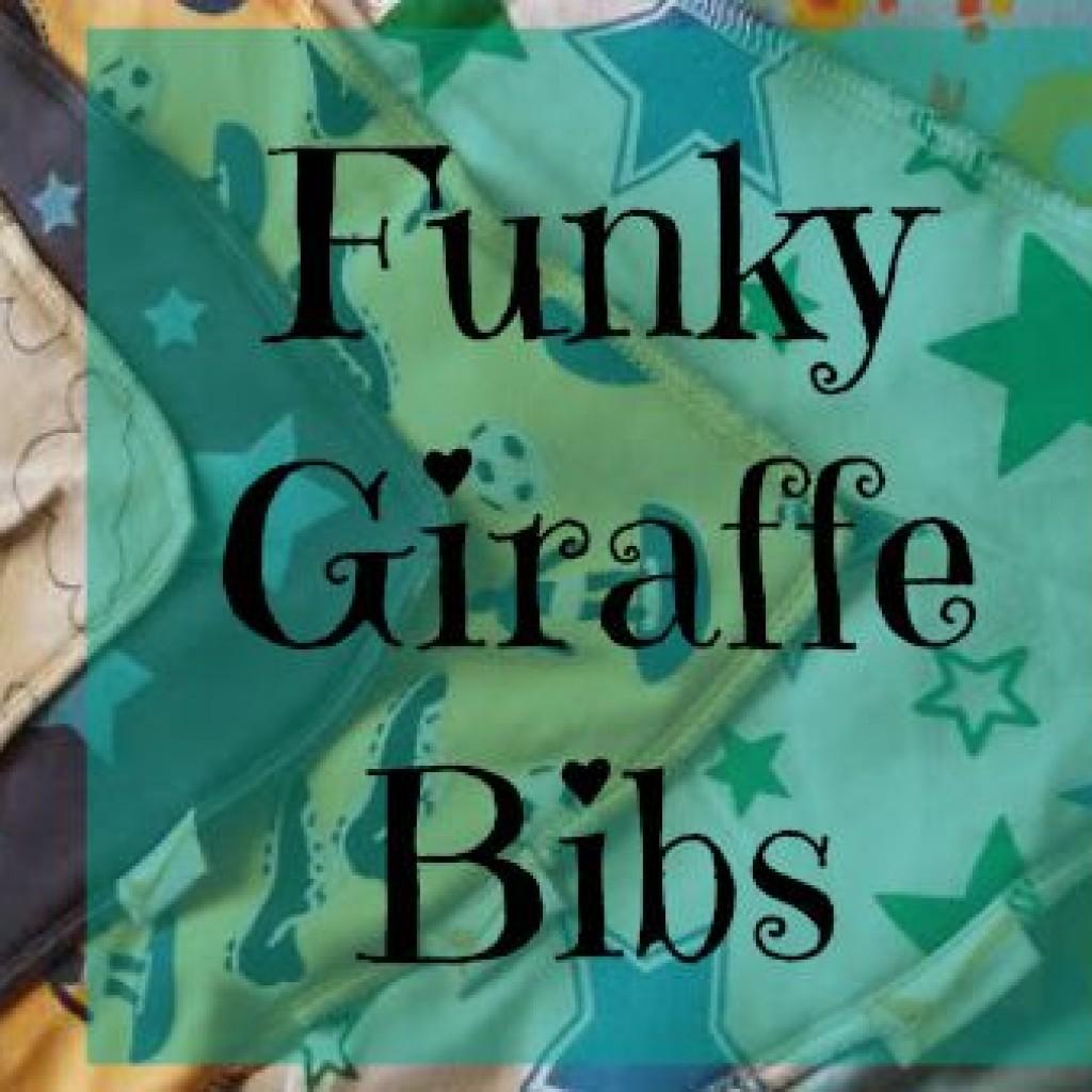 Teething and Funky Giraffe Bibs
