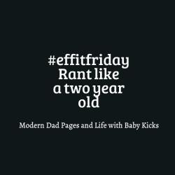 #effitfriday – 3 July 2015