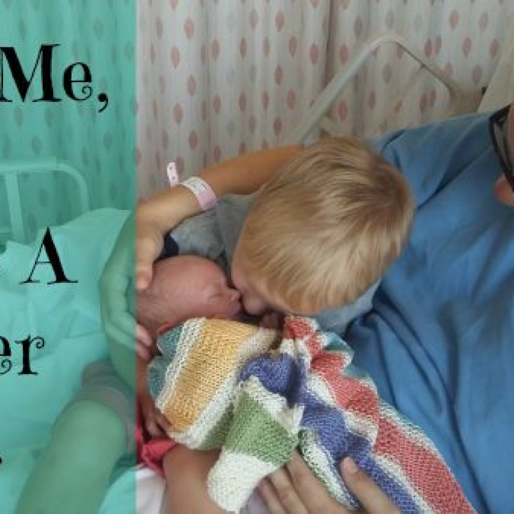 Dear Me, You're A Mother Now….