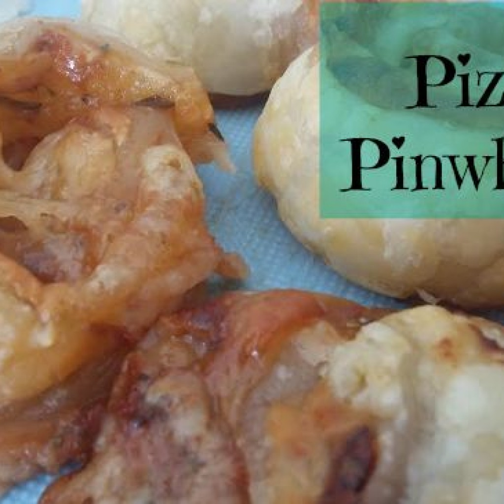 Food for Thought; Pizza Pinwheels