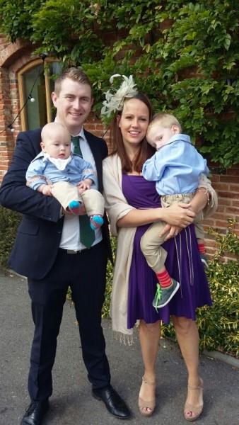 family life with baby kicks