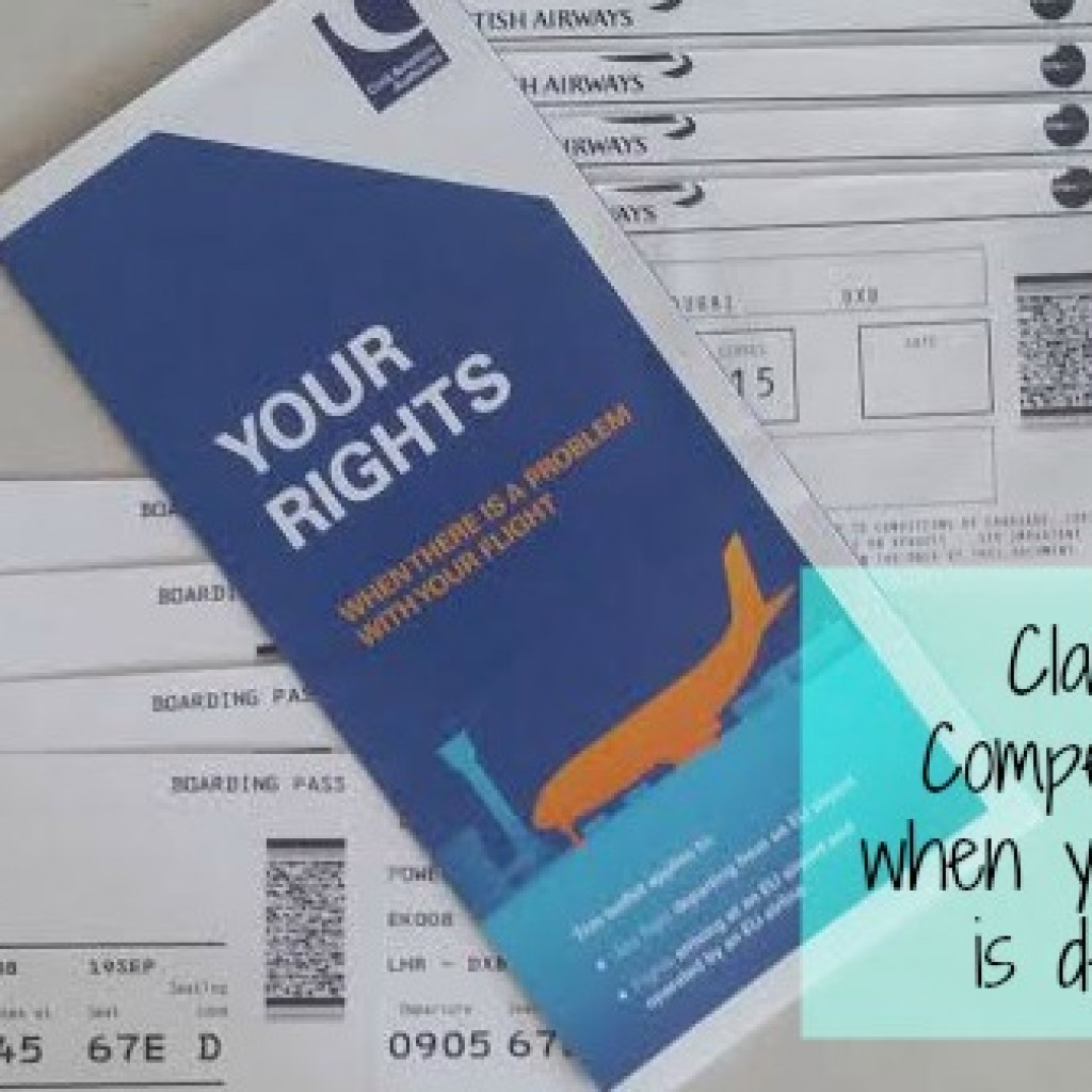 Travel; Claiming Compensation When Your Flight is Delayed