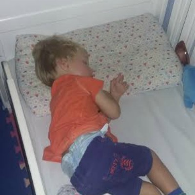 asleep toddler