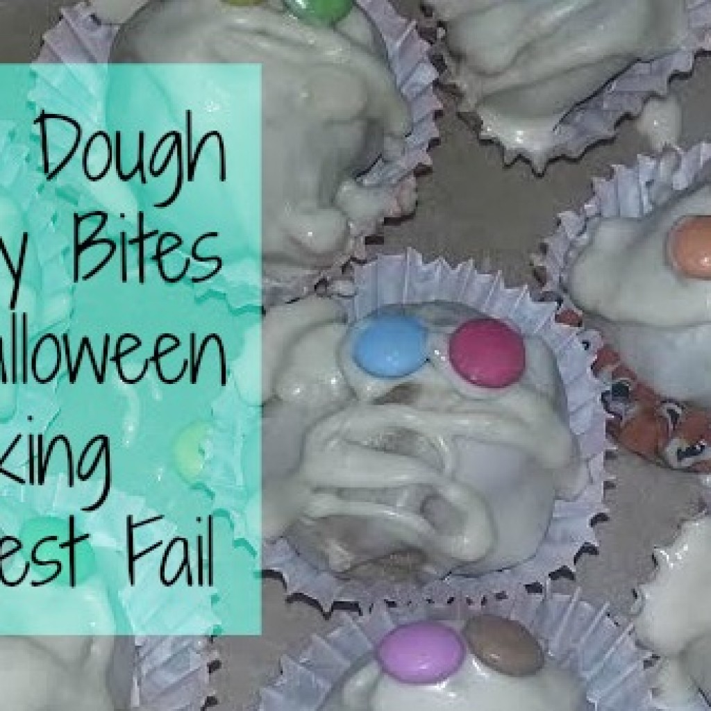 Food for Thought; Halloween Baking Pinterest Fail