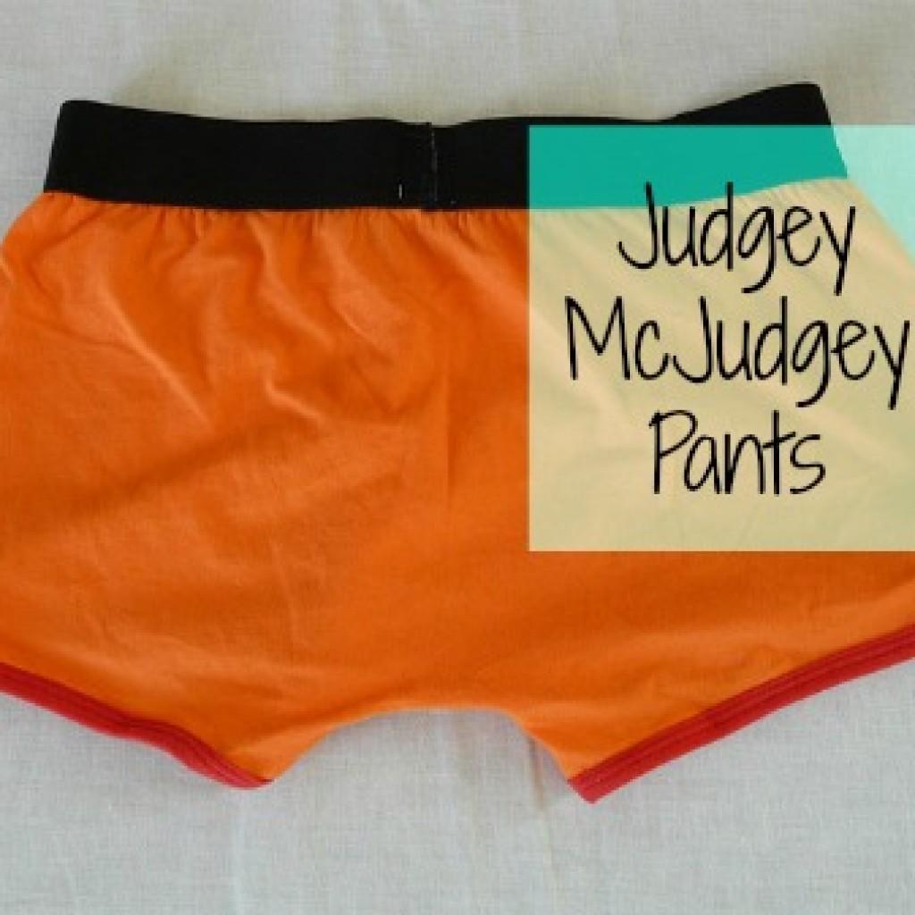 Let's Take Off Our Judgey McJudgey Pants