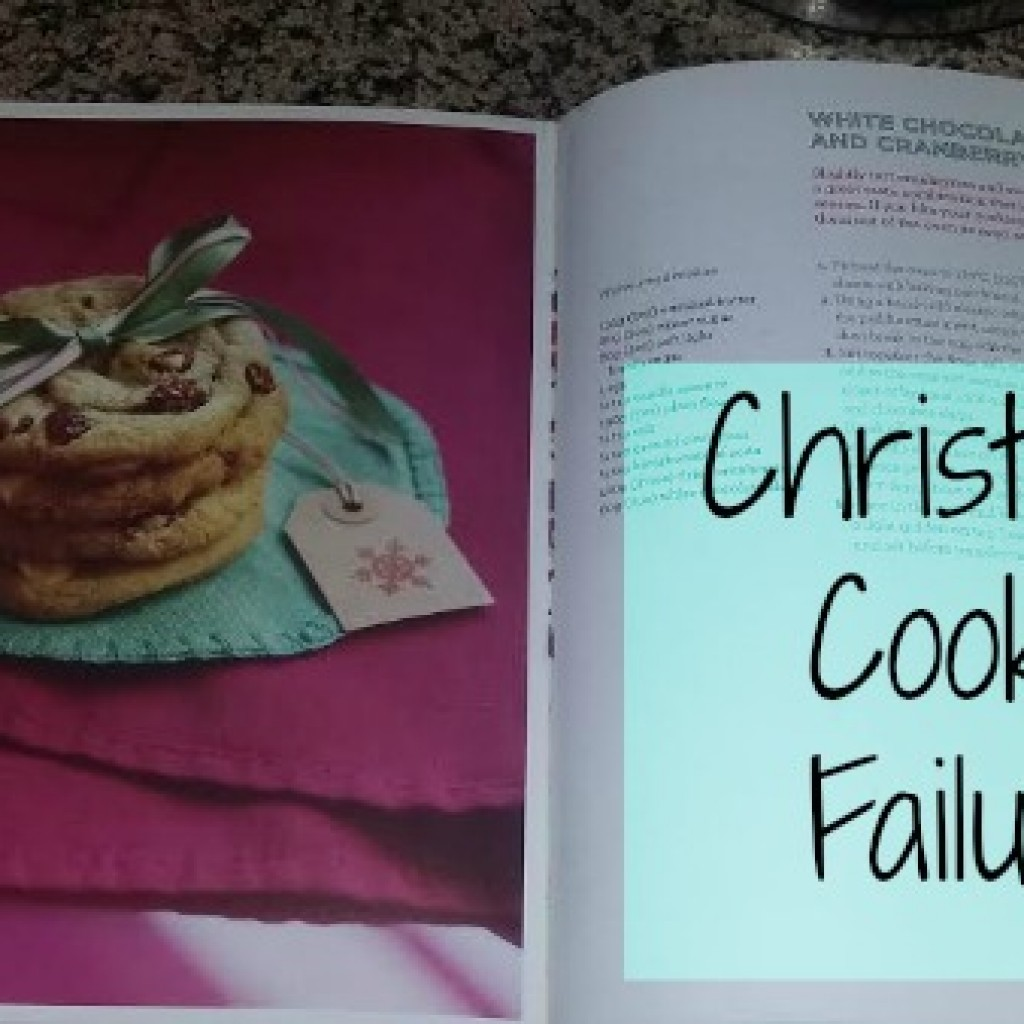 Food for Thought; My Christmas Cookie Failure