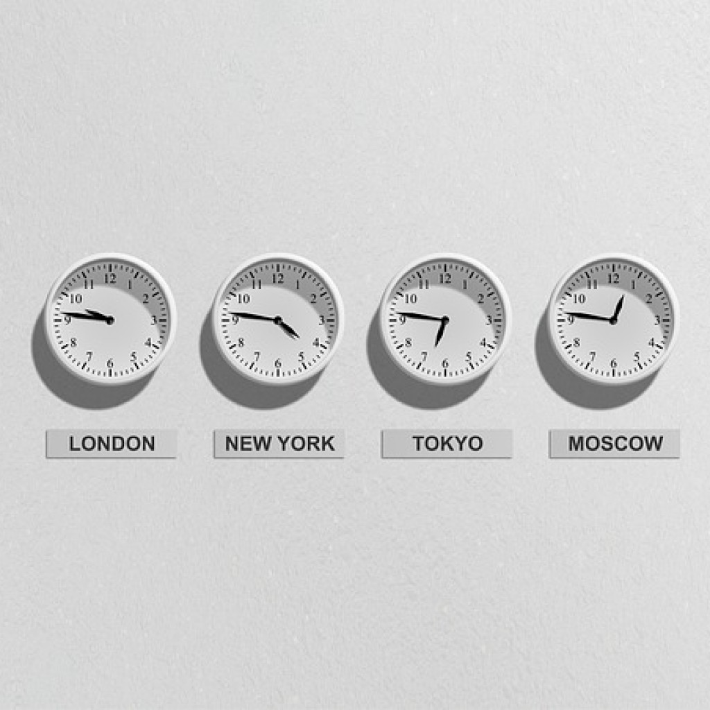 Travel; 5 Top Tips when Dealing with Timezone Changes