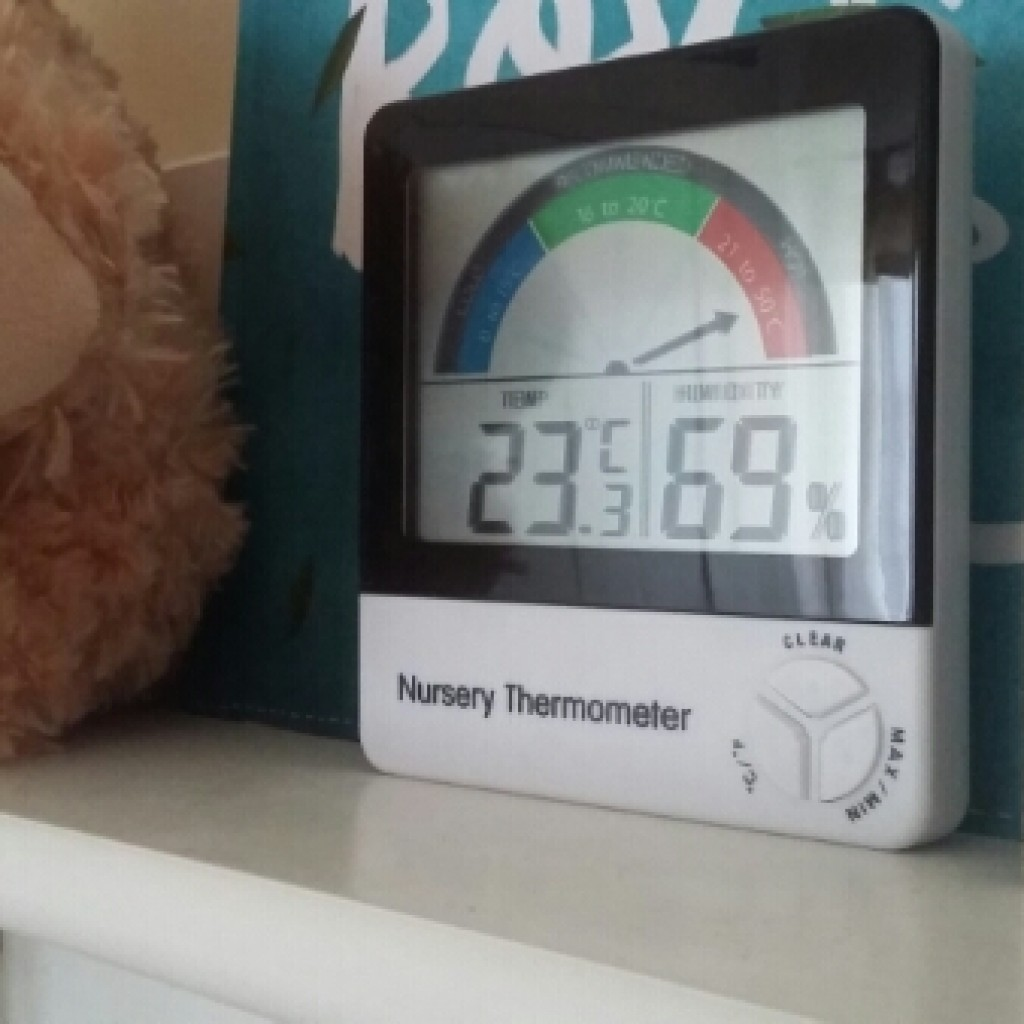 Review & Giveaway; Nursery Thermometer from ETI