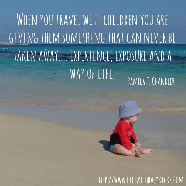 children travel quote