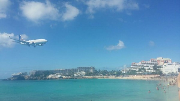 travel round the caribbean maho beach