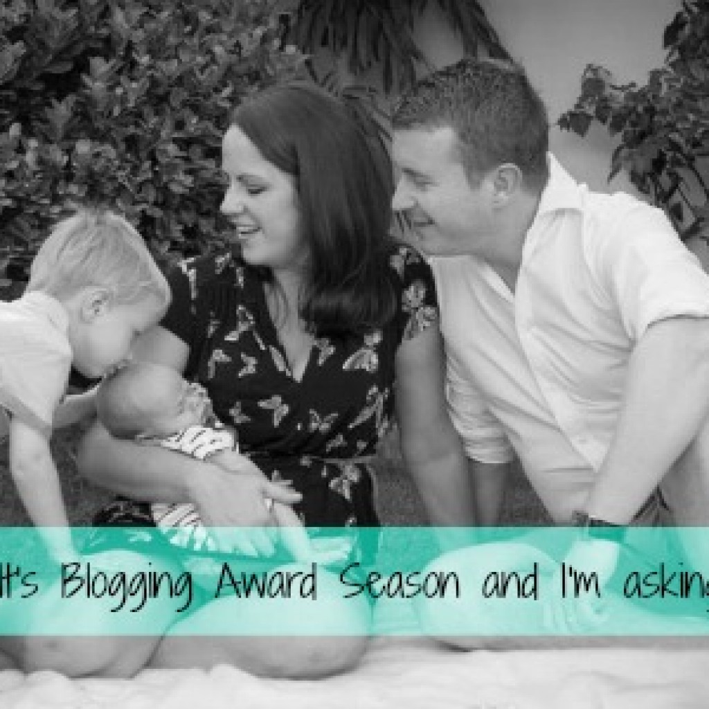 It's Blogging Awards Season and My Nominees Are….