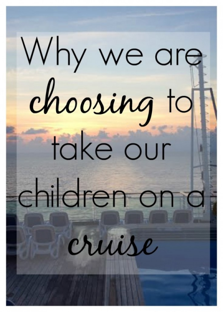 Taking Children on a Cruise