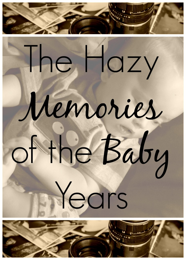 The Hazy Memories of the Baby Years Pin