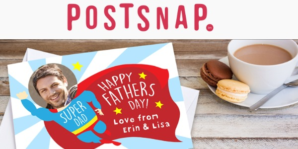 The Easy Option for Father's Day Cards with Postsnap