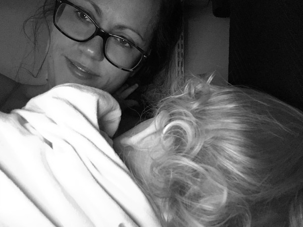 Breastfeeding an older baby