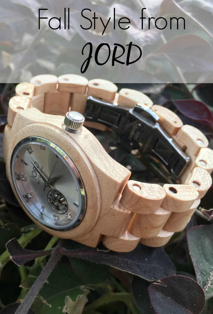Fall Style from JORD wood watches, wooden watch, unique watch, women's watch, fashion, style