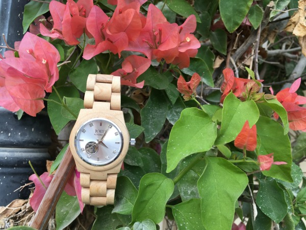 Jord Wood Watches Cora Maple and Silver #jordwatch wooden watch