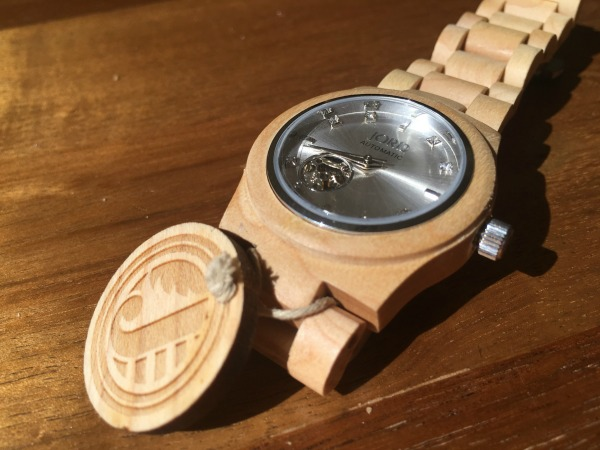 Jord Wood Watches Cora in Maple and Silver #jordwatch