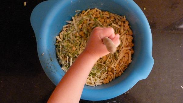 Stir ingredients together