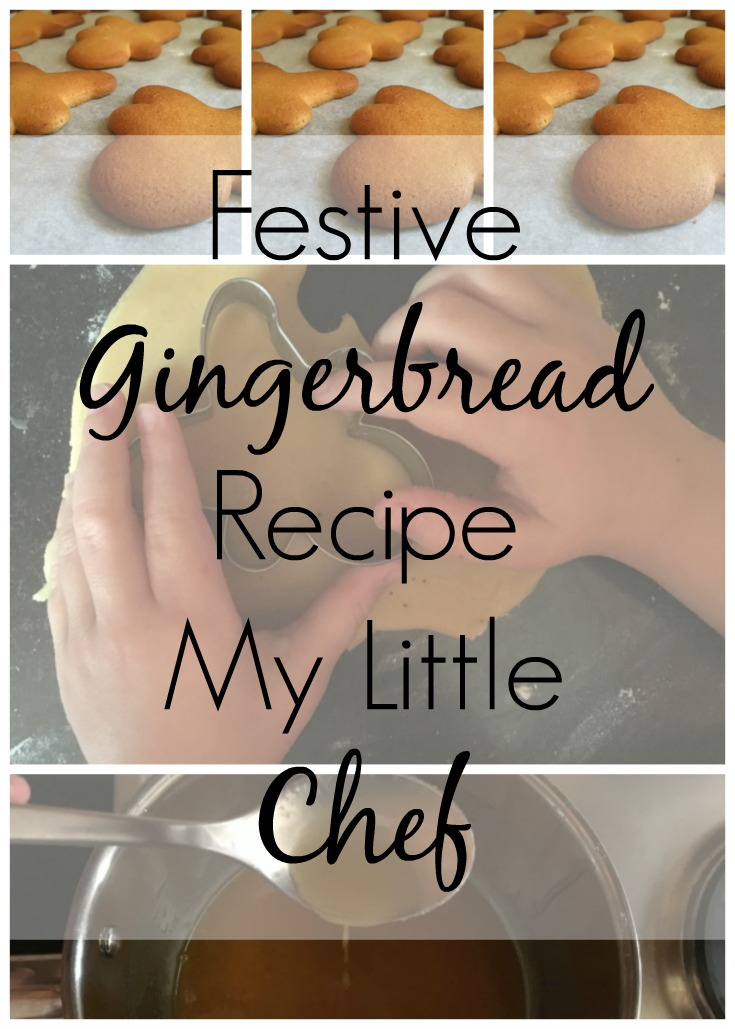 Festive Gingerbread Recipe Baking with Children
