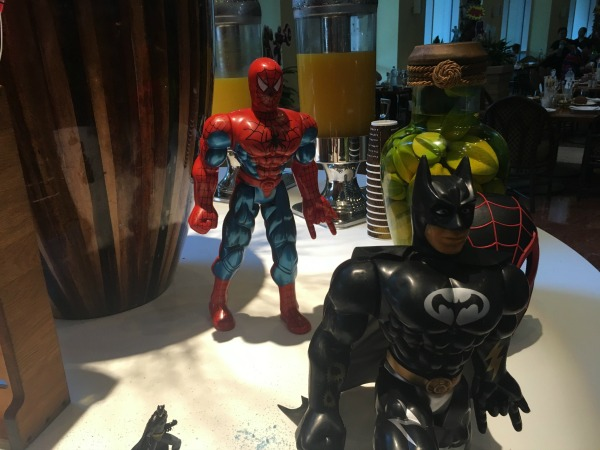 superhero brunch at the ritz carlton