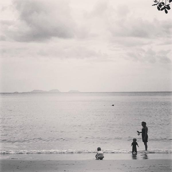 beach at the andaman, langkaw