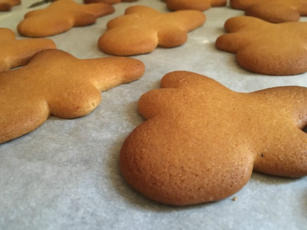 festive gingerbread recipe with reindeer gingerbread cookies
