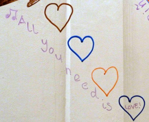 all you need is love #MarkWarnerMum