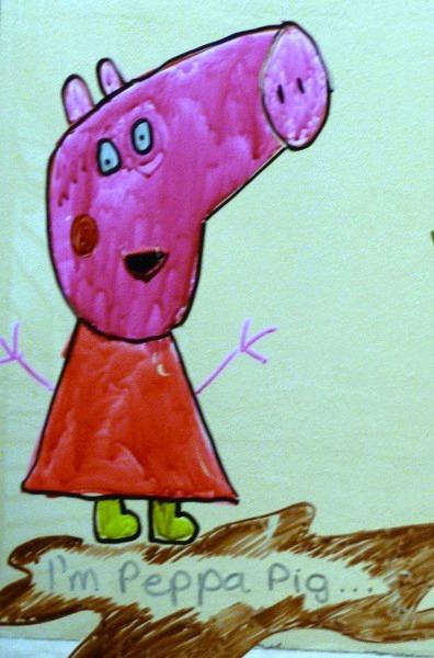 I'm Peppa Pig #MarkWarnerMum