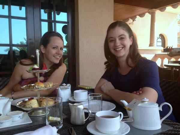 Baby Shower afternoon tea at the Ritz Carlton Dubai