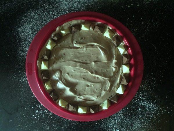 no-bake toblerone cheesecake