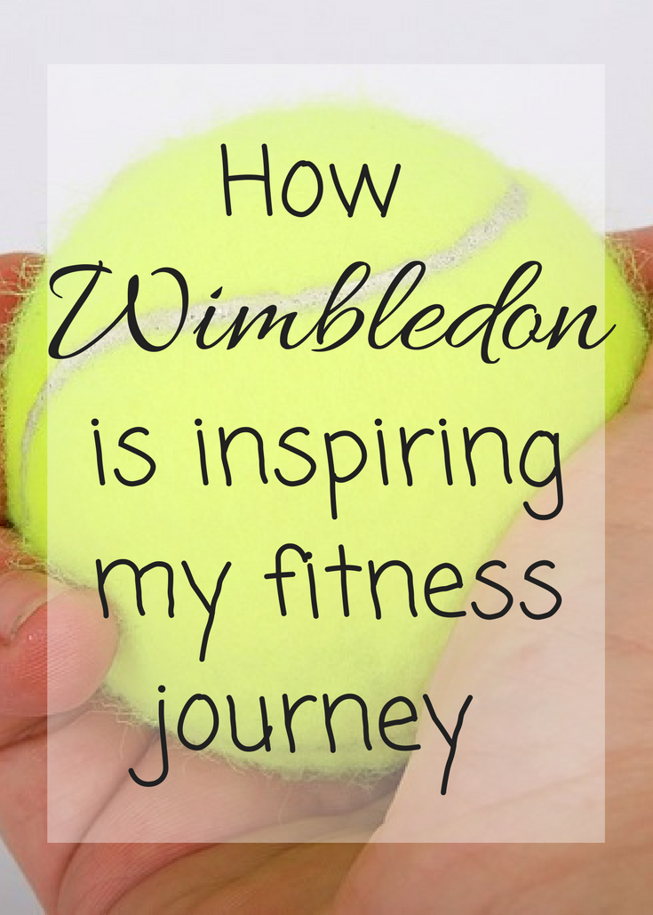 I am no tennis player, I lack the hand-eye coordination, but this year Wimbledon is inspiring my fitness journey and this is why.