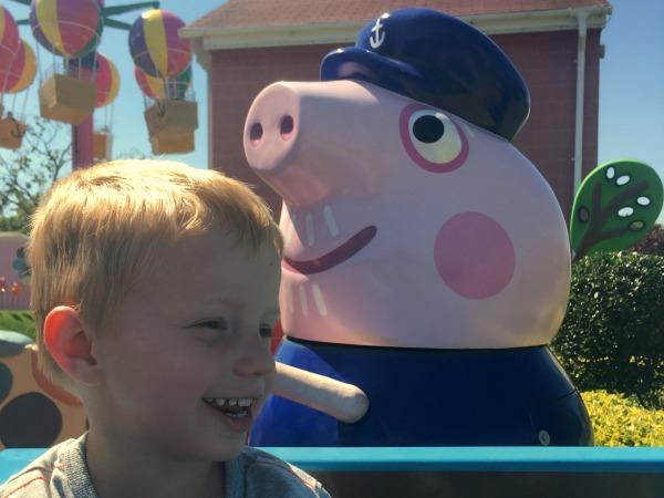 Our day out at Peppa Pig World, Paultons Park