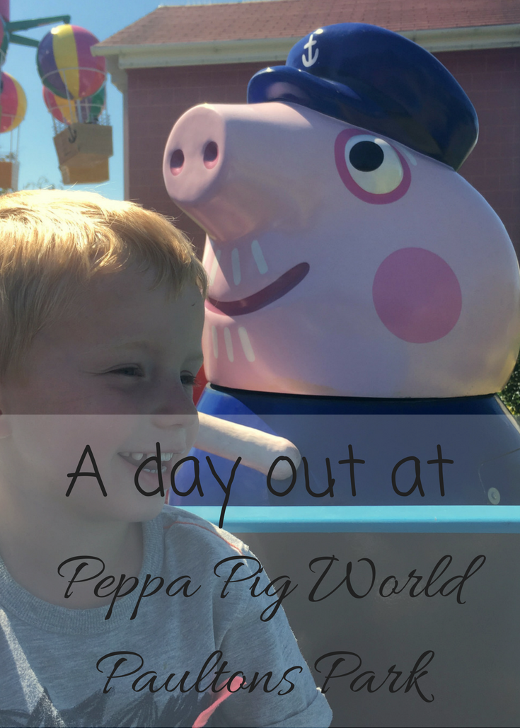 This summer we headed to Paultons Park, home of Peppa Pig World, for a day out with the kids down in Southampton UK.  Here is our review and why we think that Peppa Pig World should be a must do for every young Peppa fan.