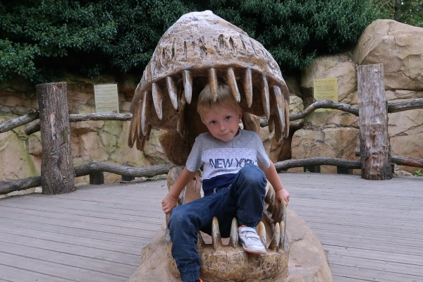 West Midlands Safari Park Dino Adventure