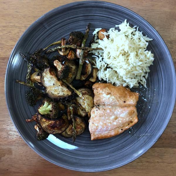 meal plan salmon