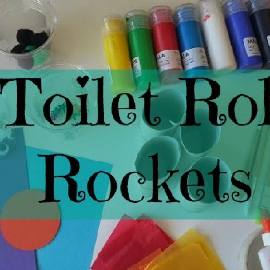 Toilet Roll Rockets