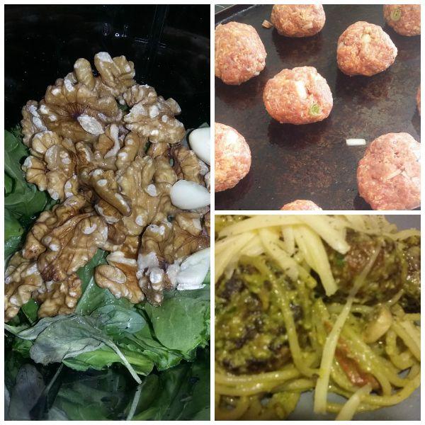 Meatball Pesto